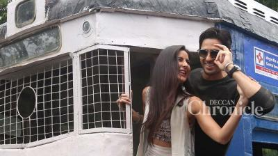Sidharth Malhotra and Katrina Kaif recently promoted their film 'Baar Baar Dekho' in Kolkata.
