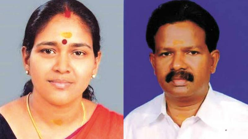 Kerala assembly elections shobha surendran and kk for V muraleedharan family
