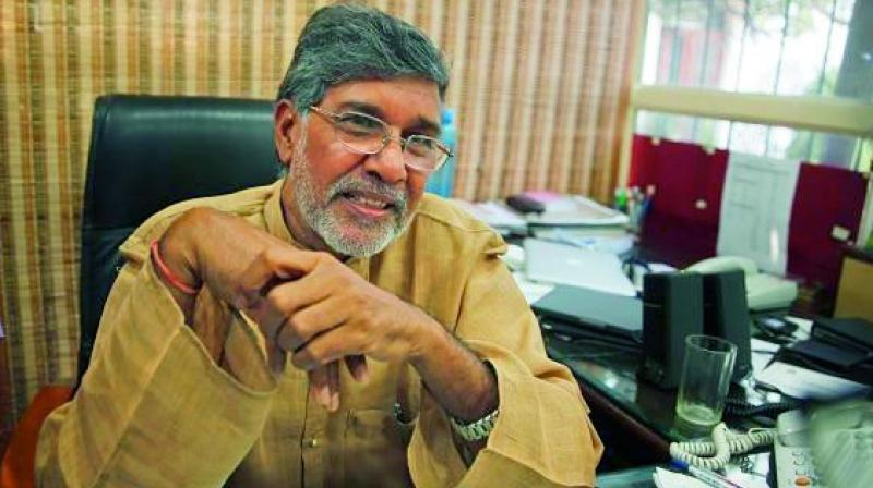 Satyarthi's Nobel prize replica recovered