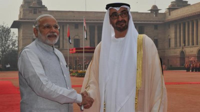 India and UAE have committed to raise their bilateral trade by 60 percent in the next 5 years.