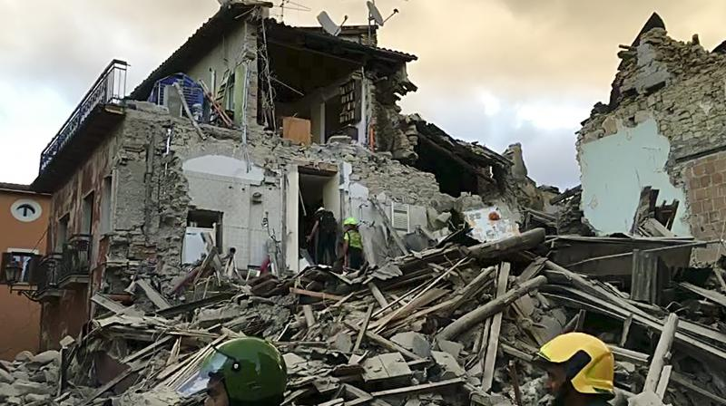 Central Italy was struck by a powerful, 6.2-magnitude earthquake in the early hours of Wednesday, leaving at least 18 people dead and devastating dozens of mountain villages.