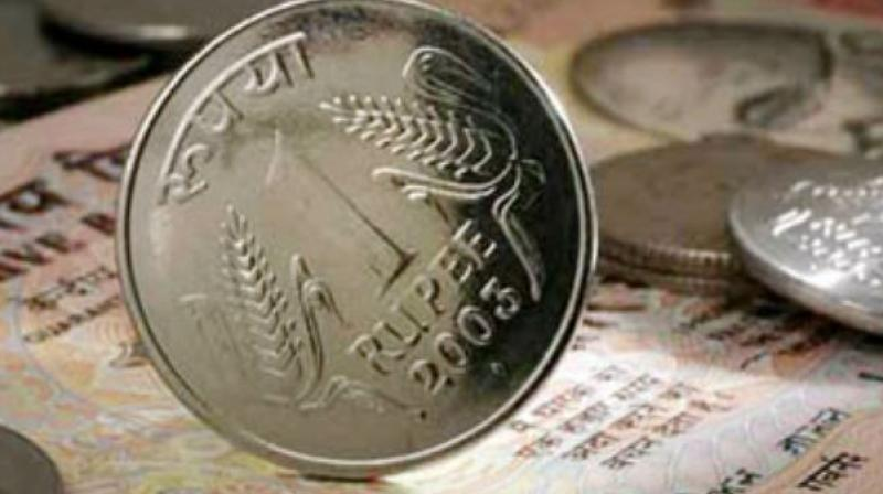 Rupee weakens 27 paise against USA dollar