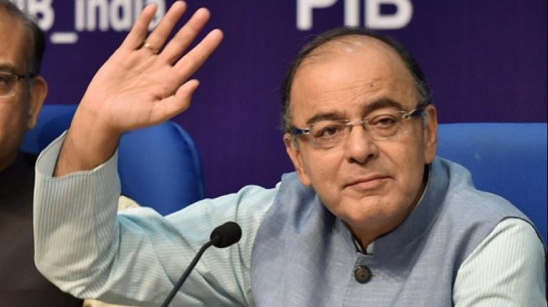 Image result for arun jaitley press conference