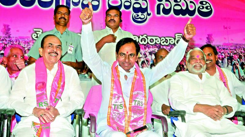 Ghmc election results trs marks landslide victory with 99 for Table 99 hyderabad telangana