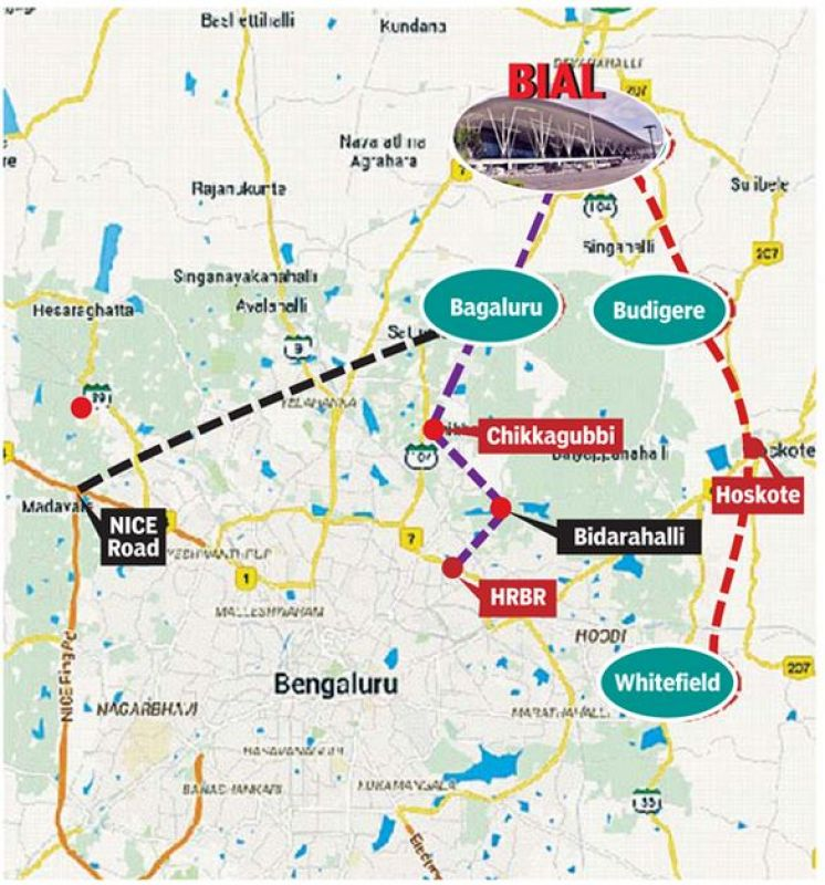 To Kempegowda International Airport, All Roads Lead To