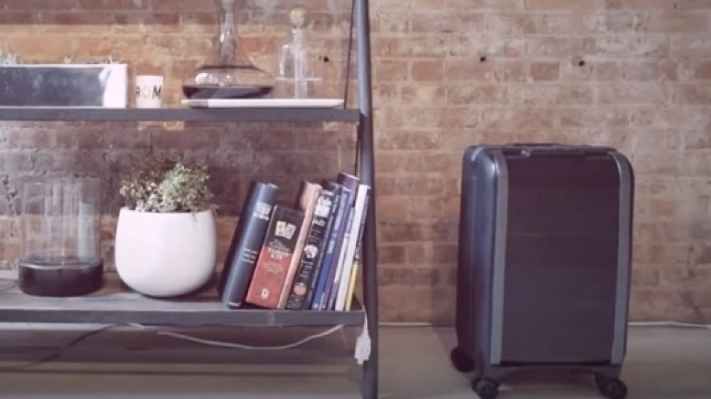The Trunkster is a smart, elegant suitcase offering seamless travel experience. The suitcase is built out of an entirely new class of leather and features zipper-less entry, integrated power charging unit, built-in digital scale, a sturdy handle, and location tracking functionality to make your travel experience worthwhile.