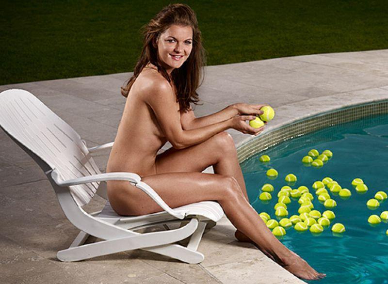 Tennis Player Nude Shoot