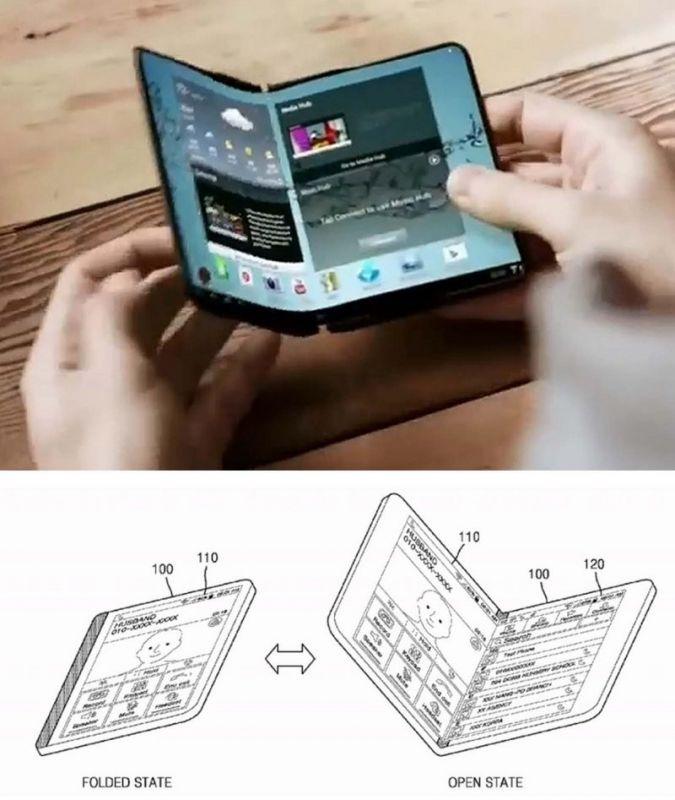 folding smartphones