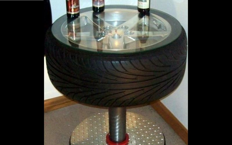 Here is another bar table idea.