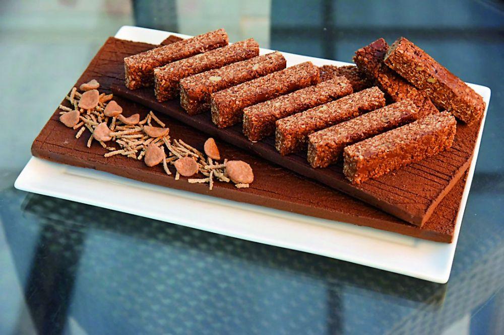 Chocolate bran bites