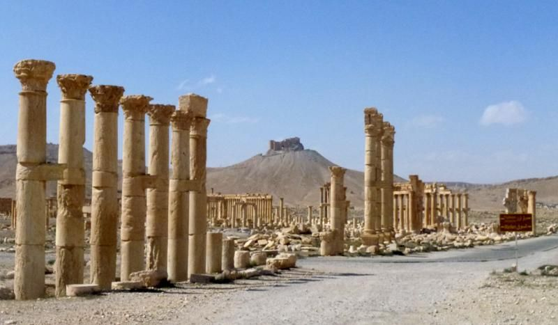 A general view taken on March 27, 2016 shows part of the ancient city of Palmyra, after government troops recaptured the UNESCO world heritage site from the Islamic State (IS) group. (Photo: AFP)