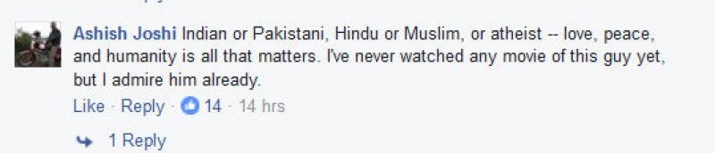 Fawad Khan pos