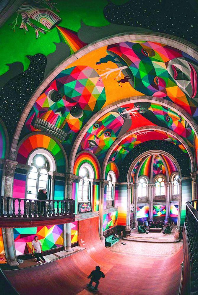 Mural Church