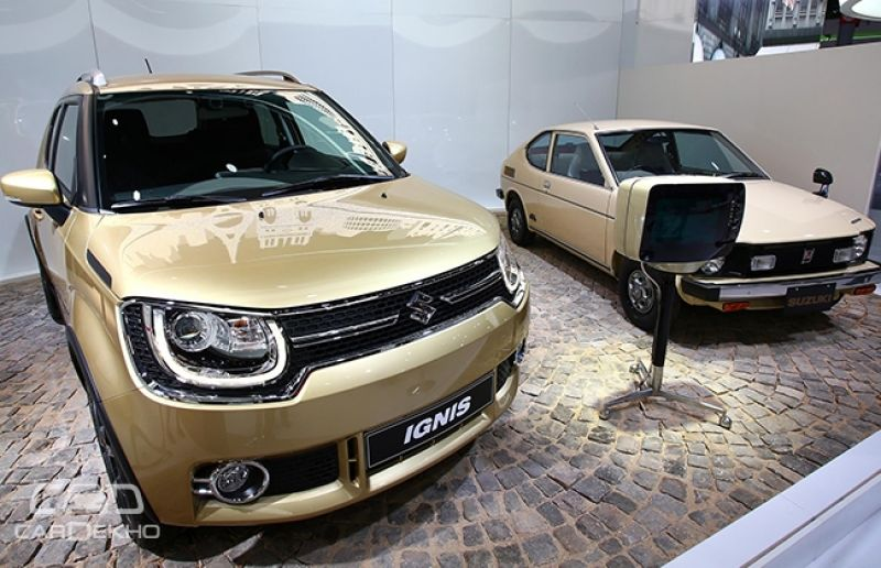 Paris Motor Show Suzuki Reveals Details About India Bound