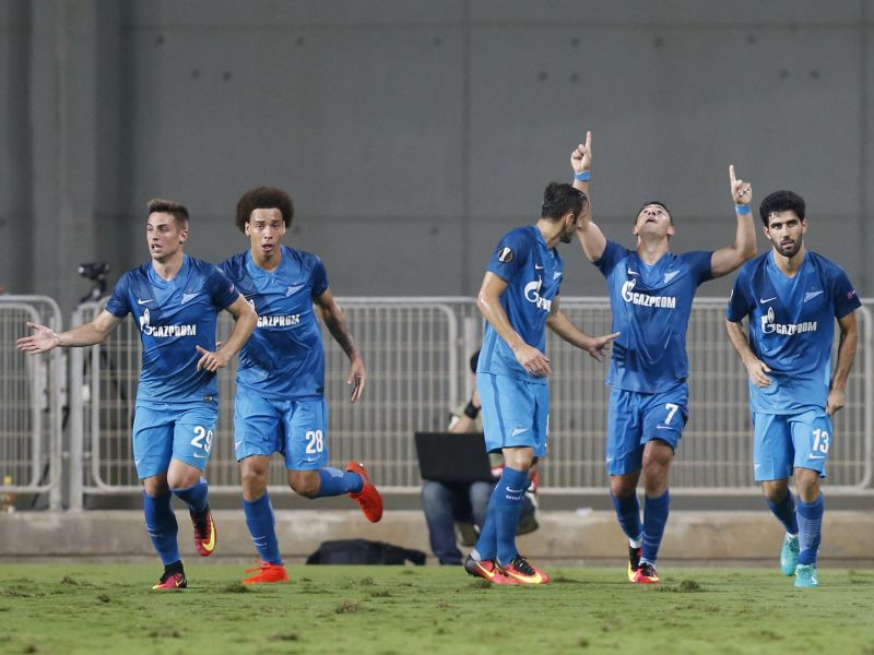 Zenit pulled off a staggering comeback to win from 3-0 down. (Photo: AP)