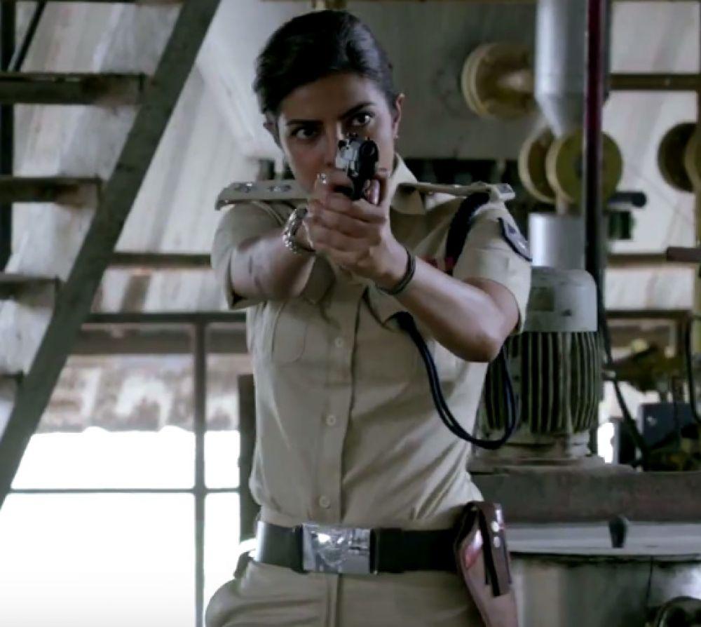 A still from Jai Gangaajal's new promo