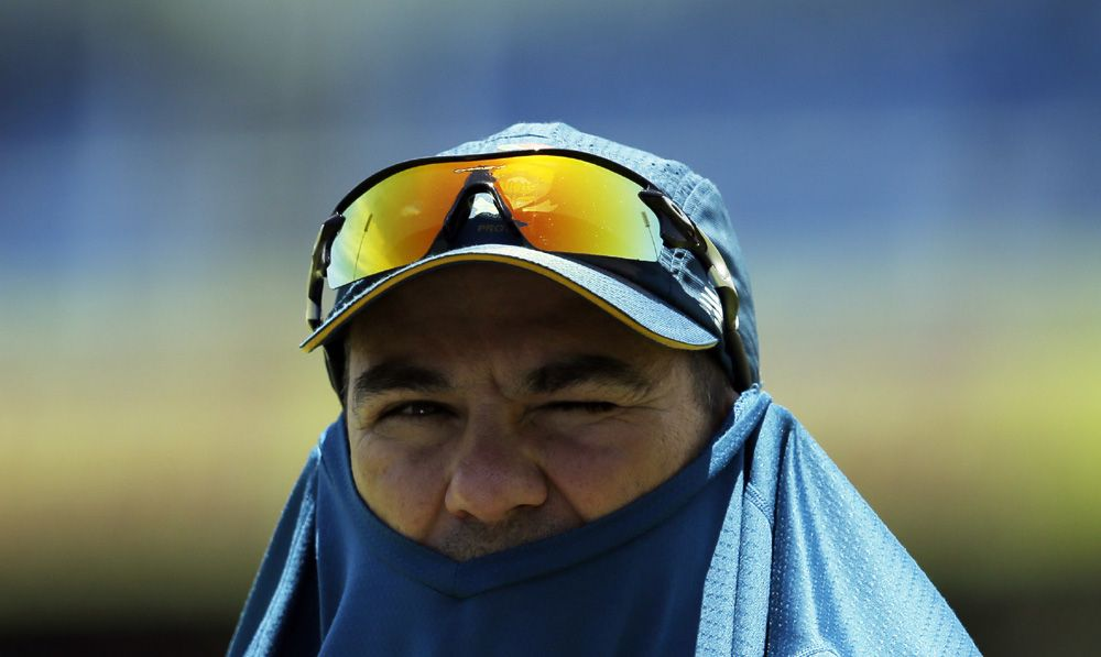 It is hardly a glowing endorsement of the work being done by head coach Russell Domingo, who has used his predecessor Gary Kirsten, former Australia international Mike Hussey and most recently ex-Proteas captain Graeme Smith in consultancy roles to help the team's batsmen. (Photo: AP)