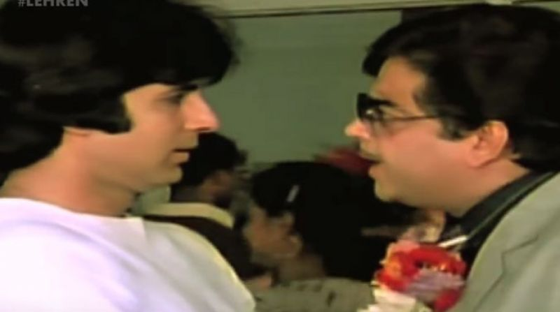 Amitabh Bachchan and Shatrughan Sinha starred in many hit movies. (Photo: YouTube screenshot)