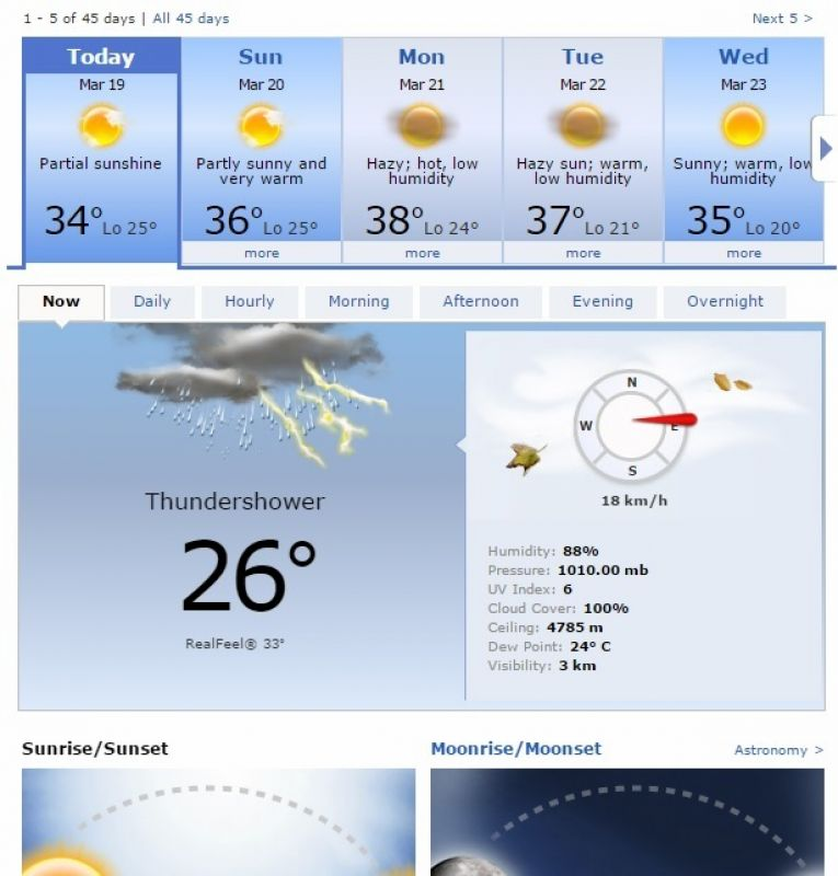 Weather forecast. (Photo: Screengrab)