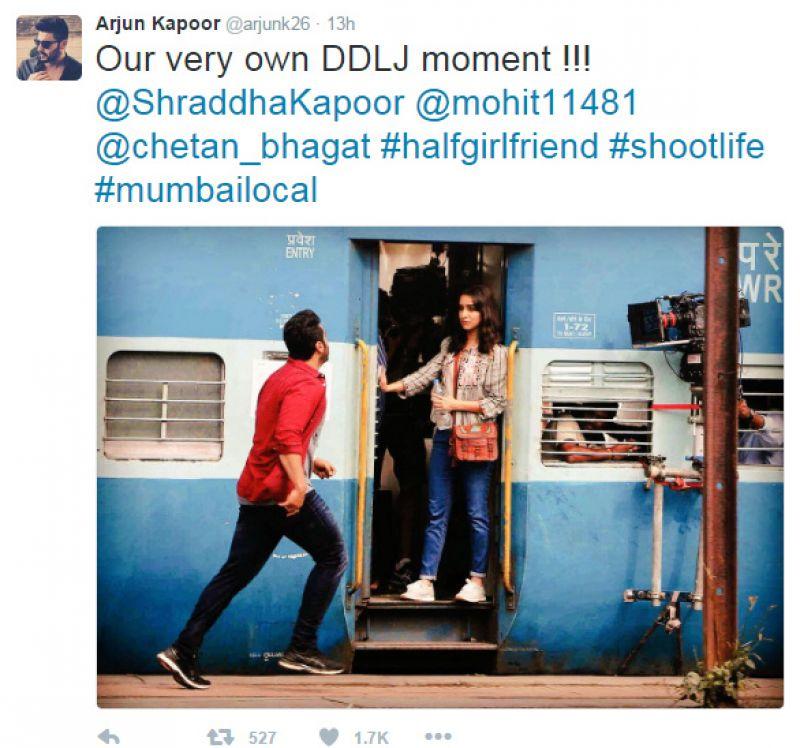Arjun Kapoor Half Girlfriend