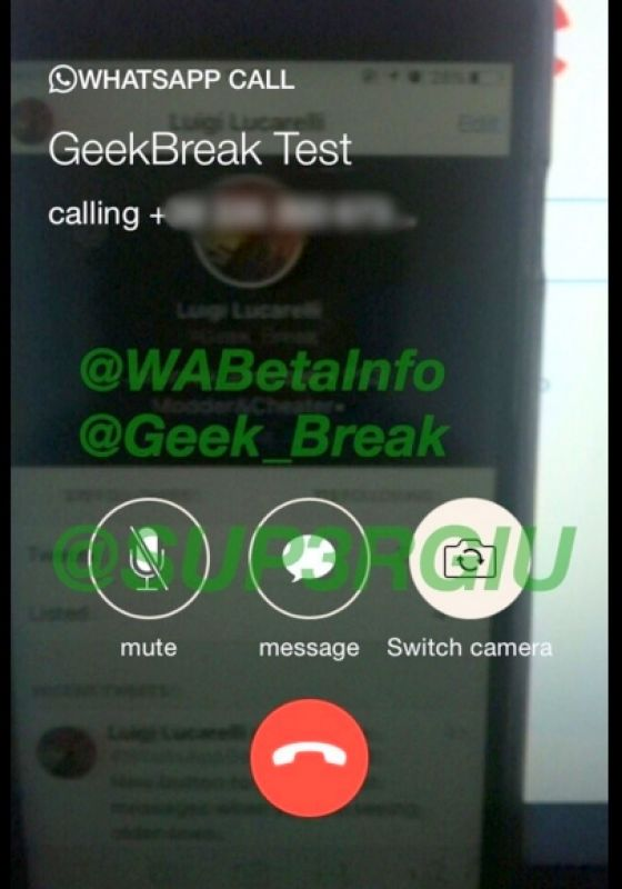 WhatsApp video and desktop apps