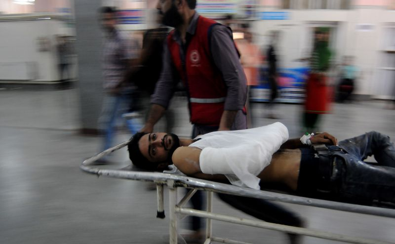 Over 300 people including over 100 security force personnel have been injured in the violence.