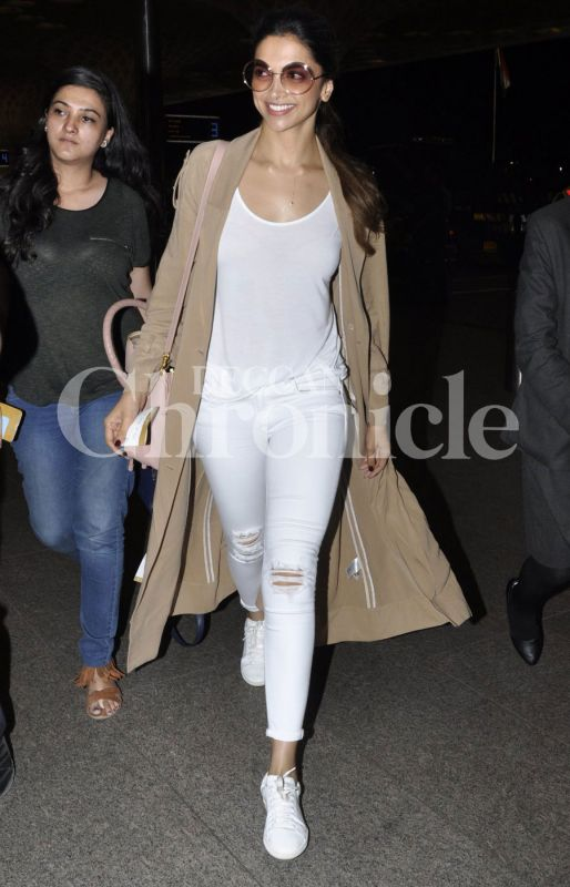 Deepika Padukone is reportedly flying to Bangalore to meet her family.