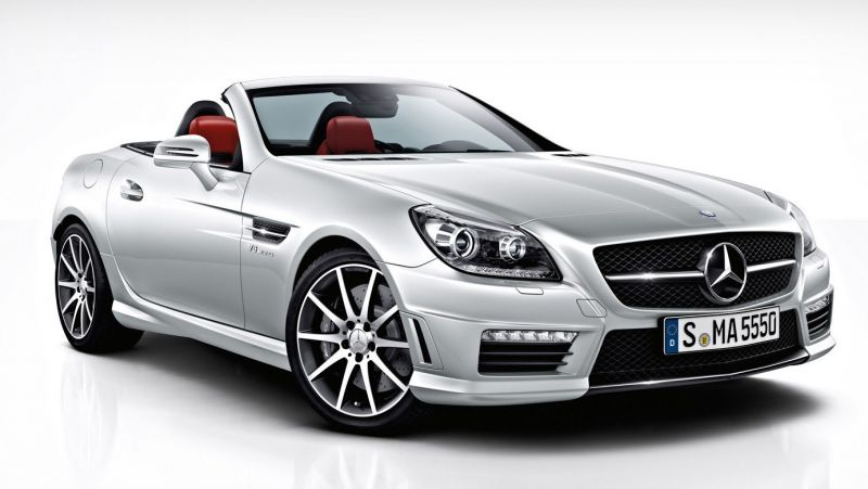 Mercedes Benz SLK Class 55 AMG | Engine: 5461cc, Petrol | Transmission