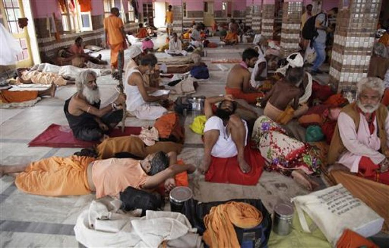 The Amarnath Yatra remains suspended for the third day. (Photo: AP)