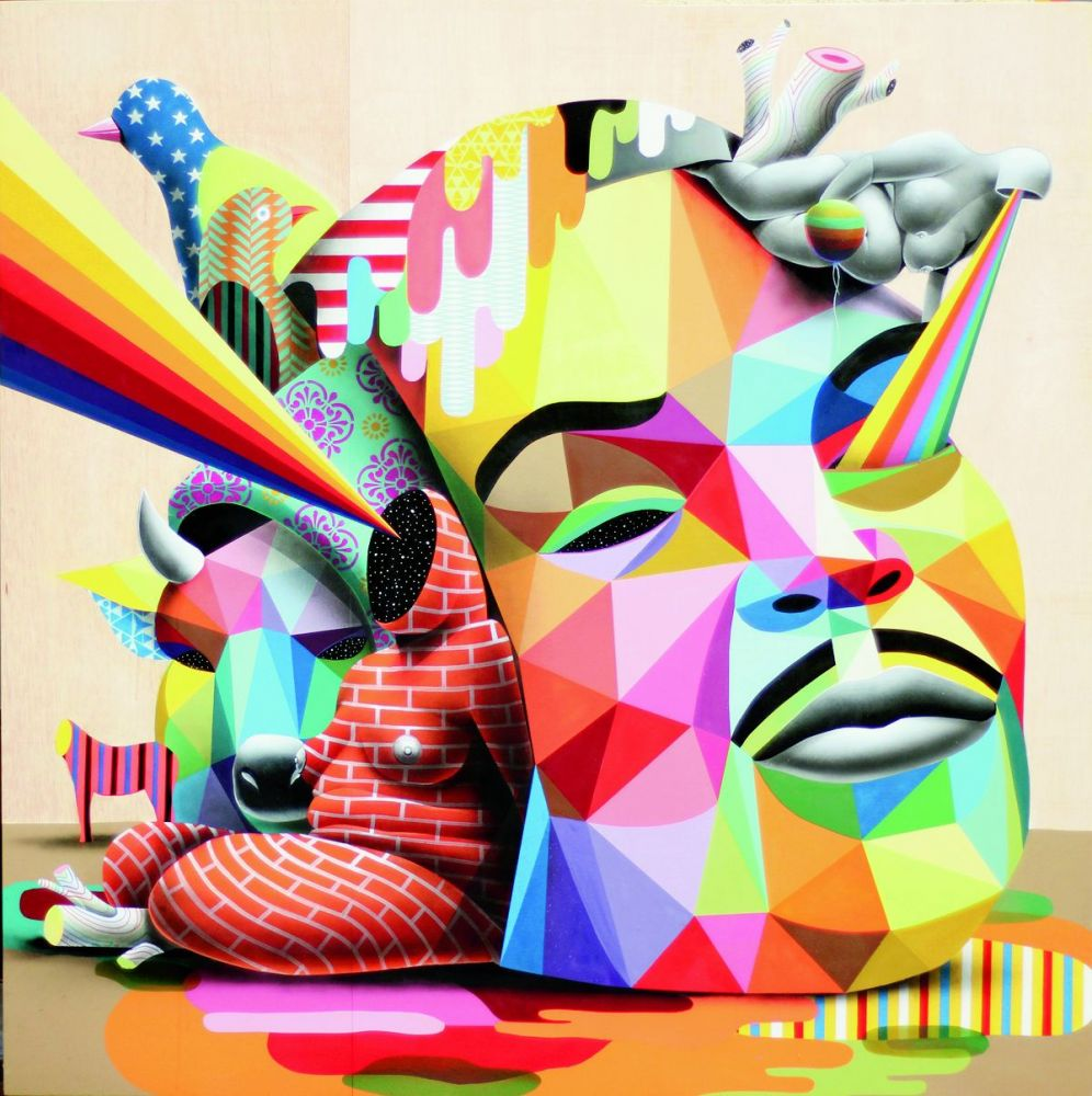 Okuda's design philosophy is simple — he equates design with art.