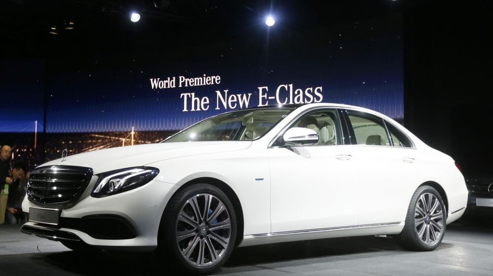 The tenth generation of the midsize E-Class sedan