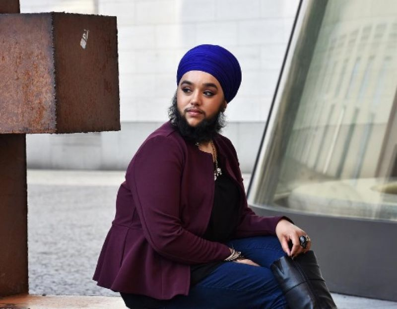 She was chosen for a portrait exhibition (Photo: Instagram/Harnaam Kaur)