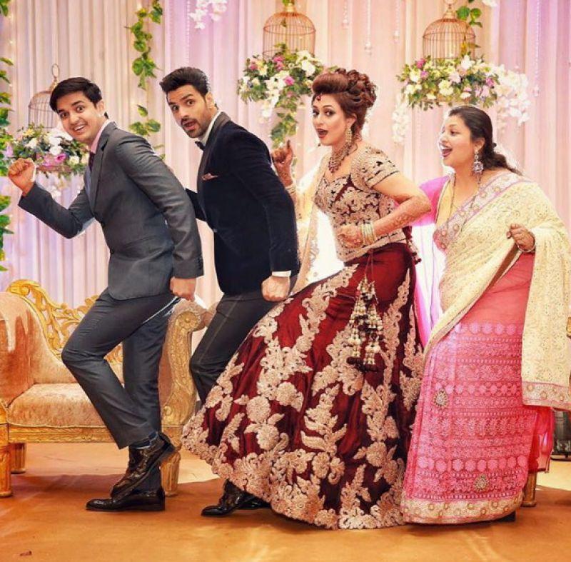 New Pics Divyanka Tripathi And Vivek Dahiyas Grand Wedding Reception