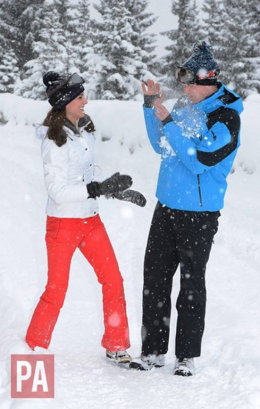 Kate Middleton and Prince Williams. (Photo: Twitter)