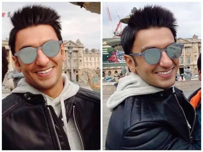 The new pictures of Ranveer Singh from Befikre's set found its way on the internet.