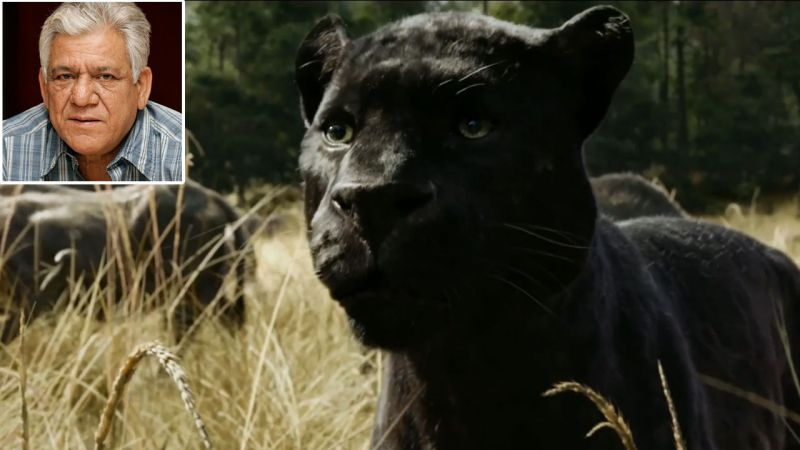 Om Puri will lend his voice to Bagheera- the panther, originally played by Ben Kingsley.
