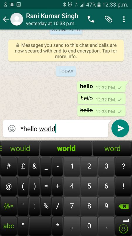 40 whatsapp tricks