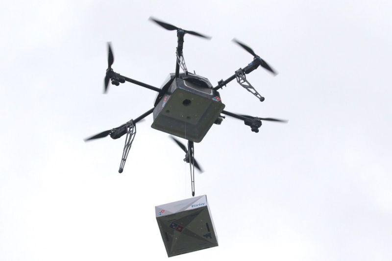 Domino's drone delivery service (image: Domino's)