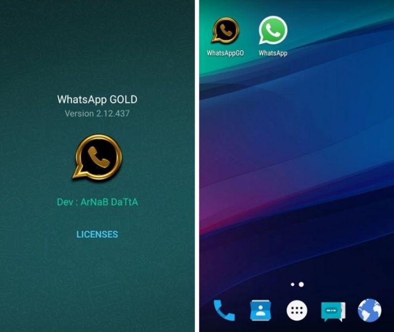 whatsapp gold apk 6.0 free download