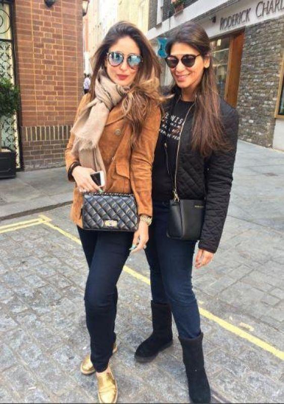 Saif Kareena in London