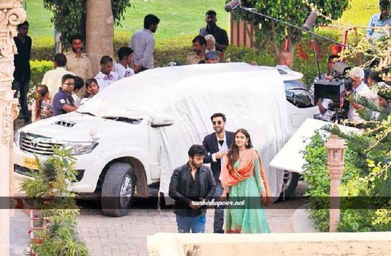 Anushka Sharma and Ranbir Kapoor were joined by Fawad Khan on the sets of 'Ae Dil Hai Mushkil'.