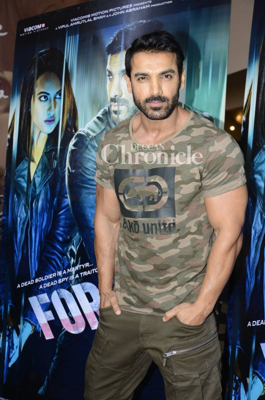 John sonakshi and tahir enthrall at force 2 trailer launch for John wicks back tattoo