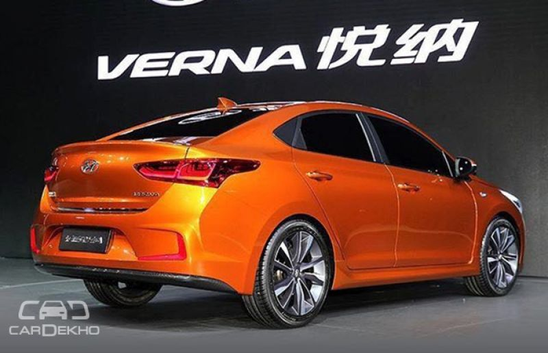 2017 Hyundai Verna Concept Showcased