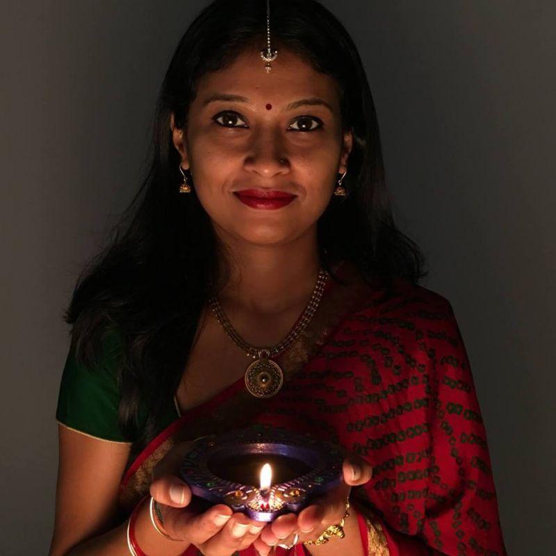 Ashish Parmar's wife Raina Nanaiah