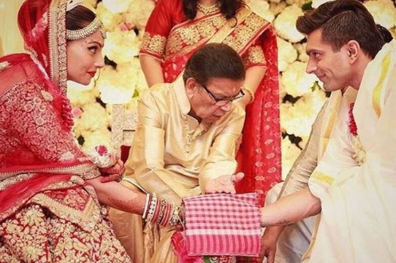 Private Ceremony Reception Later: Inside Pictures From Bipasha And Karan's Monkey Wedding