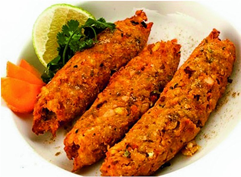 Sweet corn kebab