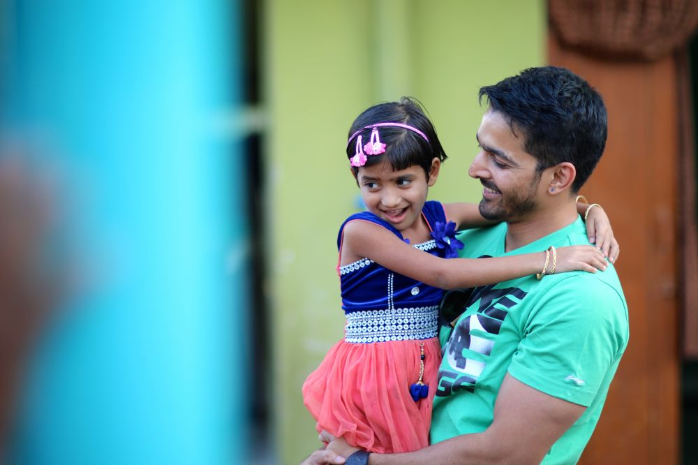 Harshvardhan with Swati