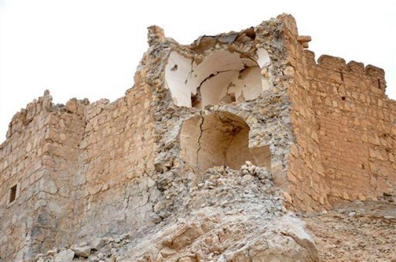 Damaged Palmyra citadel. (Photo: AP)