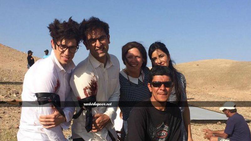 Ranbir Katrina shoot for Jagga Jasoos