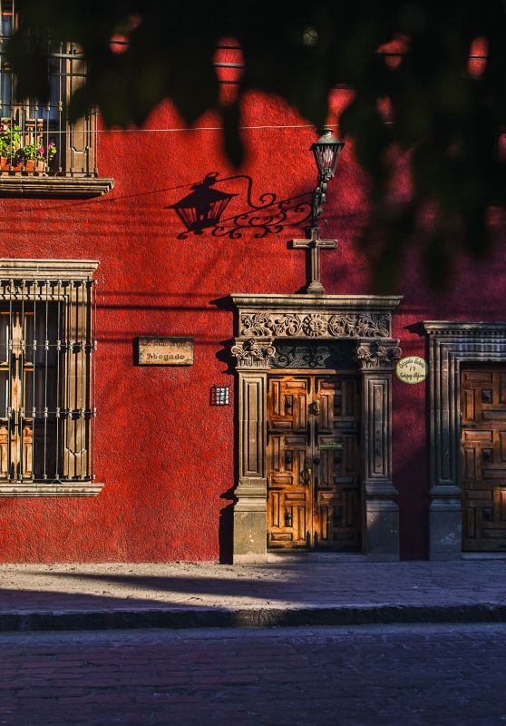 A golden quality visibly pervades the light across Central Mexico and it is particularly apparent while walking the colonial, cobblestoned alleys of the many towns and villages